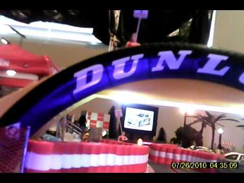 Driver Cam on Slot Car Track.avi