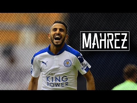 riyad mahrez pfa player of the year best skills 20152016 hd