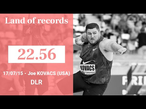Herculis Monaco 2015 - Shot Put - 22.56 - Joe KOVACS | Land of records