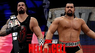 WWE Hell in a Cell 2016: Roman Reigns vs Rusev (Hell in a Cell Match for United States Championship)