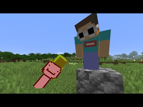 Minecraft, But You Can't Touch The Floor...