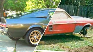 Eleanor #1 1967 Mustang Fastback GT500 - FULL BUILD @19 years old My First Car Project