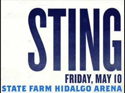 STING - Can't Stand Losing You (Hidalgo, TX 10-05-2019 State Farm Arena USA) (AUDIO)