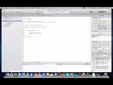 Objective-C Programming Tutorial 2- Understanding a Basic Program