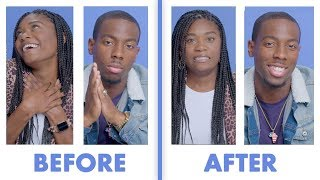 Interviewed Before and After Our First Date - Tajah & Dustin | Glamour