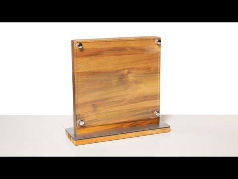Ceppo portacoltelli in legno