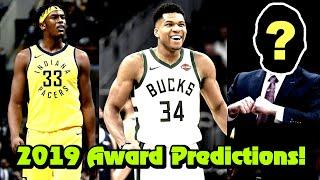 End Of Season 2018-19 NBA Award Predictions