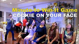 Minute-to-Win-It Game | Cookie On Your Face