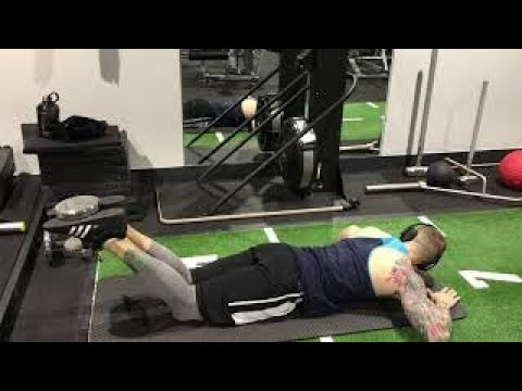 Lying Dumbbell Hamstring Curls