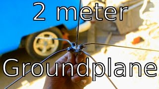 DIY Groundplane Antenna for 2 meters