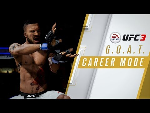 EA SPORTS UFC 3 | GOAT Career Mode Trailer | Xbox One, PS4 de UFC Undisputed 3