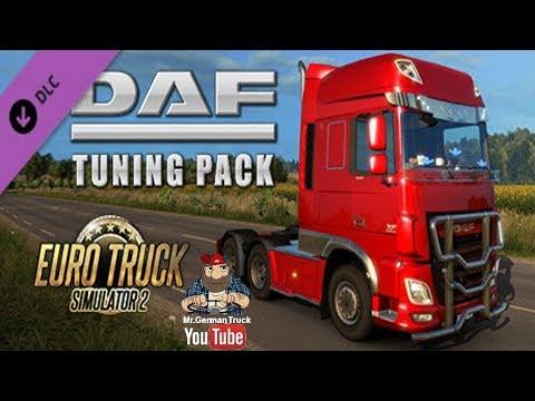 DAF Tuning Pack DLC Mod - Modhub us