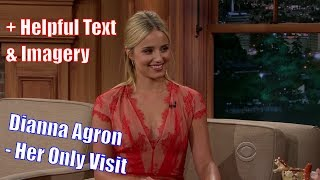 Dianna Agron - Ive Laughed More On This Show, Than Any Other - Her Only Appearance [+Texmagery]