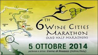 preview picture of video 'Maratona e maratonina Città del Vino 2014 arrivo e premiazioni'