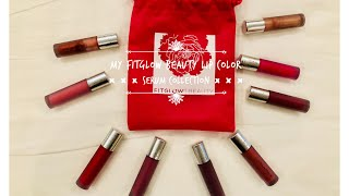 Fitglow Beauty Lip Color Serum Collection