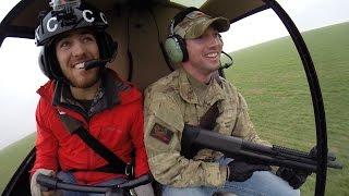 Pork Choppers Aviation - Rob's Helicopter Hog Hunt (M.E.R.C. Initiative) - No Music