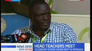 Head teachers meet in Mombasa to discuss state of security in schools