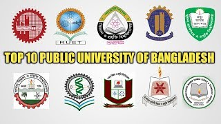 "Top 10 public ""Engineering University"" & ""Science & Technology"" University Ranking in bd 2017"