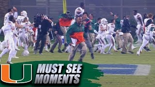 Miami 8-Lateral Touchdown Beats Duke on Wild Final Play