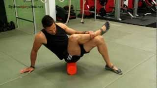 Piriformis Muscle Foam Roller Exercise