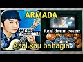 Nathan fingrestyle lirik real drum cover asal kau bahagia