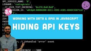 3.4 Hiding API Keys with Environment Variables (dotenv) and Pushing Code to GitHub