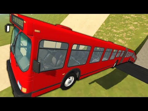 I Jumped The Longest Bus in The World, and This Happened - BeamNG Drive