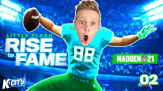 Little Flash Goes to College! (Rise to Fame in Madden 21 Part 2) | K-CITY GAMING