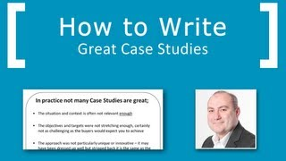 How to write great case studies
