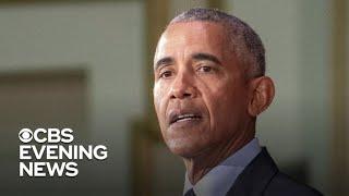 Obama slams Trump White House in scathing speech