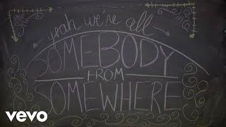 Steven Tyler - We're All Somebody From Somewhere (Lyric Video)