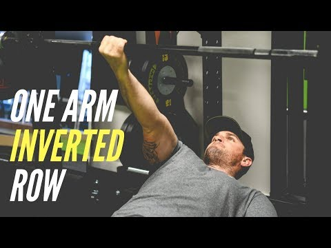 One Arm Inverted Row (MUST TRY BACK EXERCISE)   Mind Pump