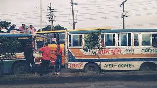 preview picture of video 'ঈদ যাত্রা ঢাকা - পাটুরিয়া, ঢাকা - আরিচা হাইওয়ে'