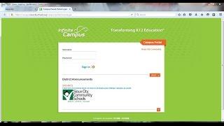 Inifinite Campus Parent Portal