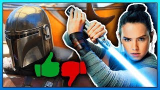 Star Wars EPISODE 9 + The Mandalorian Footage Thoughts!   Star Wars Celebration 2019