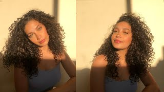 Hair Update, Curly Hair Wash Routine, Length Check   Jayme Jo
