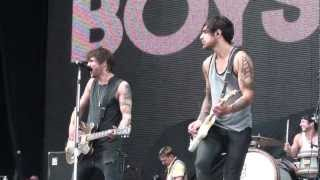 Boys Like Girls - The First Time (Live) - Bamboozle May 20th 2012, Asbury Park, NJ