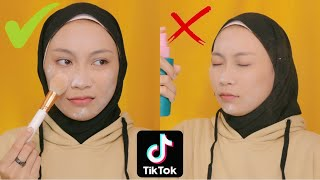 HACKS MAKEUP TIKTOK! Se Flawless Itu Kah?!