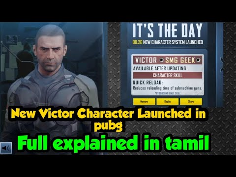 NEW VICTOR CHARACTER IN PUBG MOBILE | IT IS THE DAY | NEW EVENT IN PUBG MOBILE