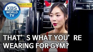 That's what you're wearing for gym? [Boss in the Mirror/ENG/2020.01.05]