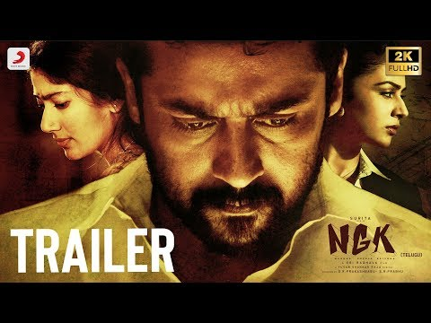 hero Suriya Sai Pallavi Rakul Preet new movie NGK Telugu Trailer