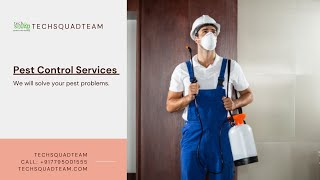 Keep your Home Safe with Techsquadteam Pest Control Services
