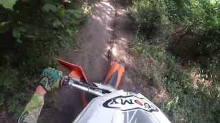 preview picture of video 'Tapolca-Enduro - Red-Track l GoPro Hero 3 Silver-Edition'