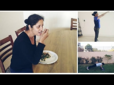 Monday Workout Routine||One Healthy Meal Recipe