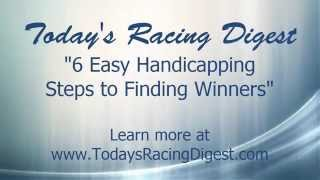 6 Quick Steps Every Horse Racing Handicapper Should Follow Before Placing a Bet