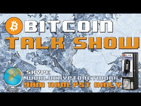 Starbucks may accept Bitcoin - Bitcoin Talk Show #LIVE (Skype WorldCryptoNetwork)