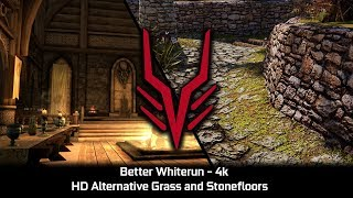Whiterun 4k - HD Alternative Grass and Stone