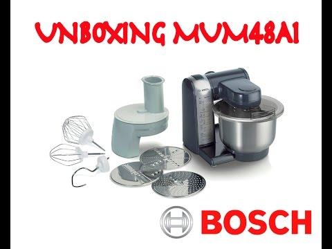 Unboxing Bosch MUM48A1 - Robot de cocina