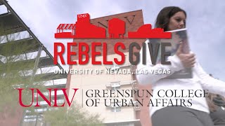 #RebelsGive: Support Students at the UNLV Greenspun College of Urban A…