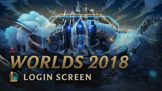 2018 World Championship (ft. HEALTH) | Login Screen - League of Legends